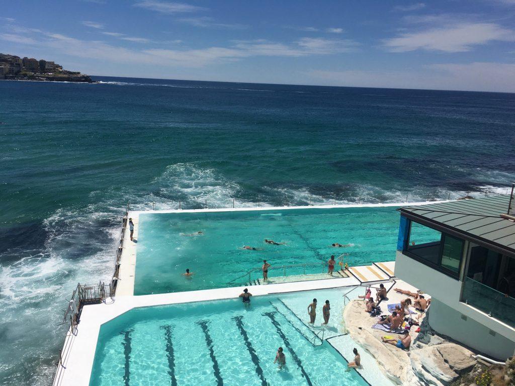 Icebergs swimming pool, Sydney, Australia