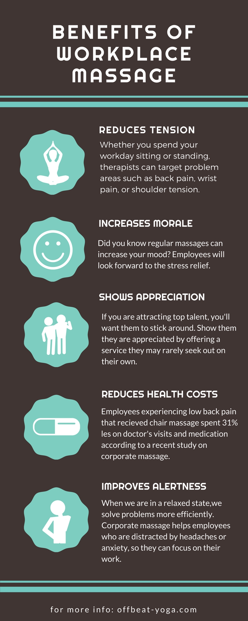 benefits of workplace massage
