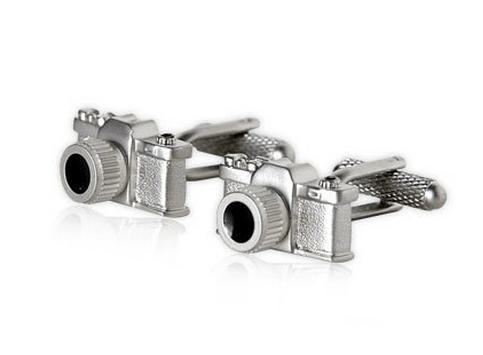 camera cufflinks