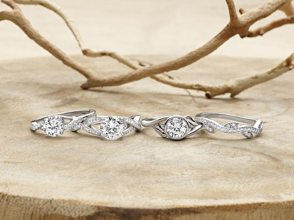 Wisteria Collection Rings