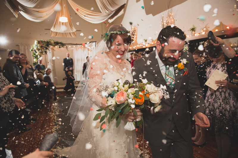 jenny gg confetti wedding photo
