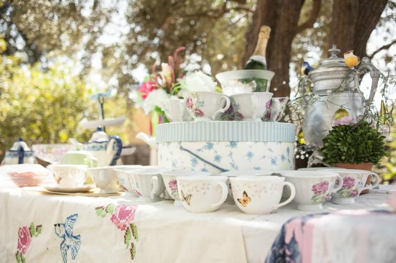 austenland bridal shower decor tea
