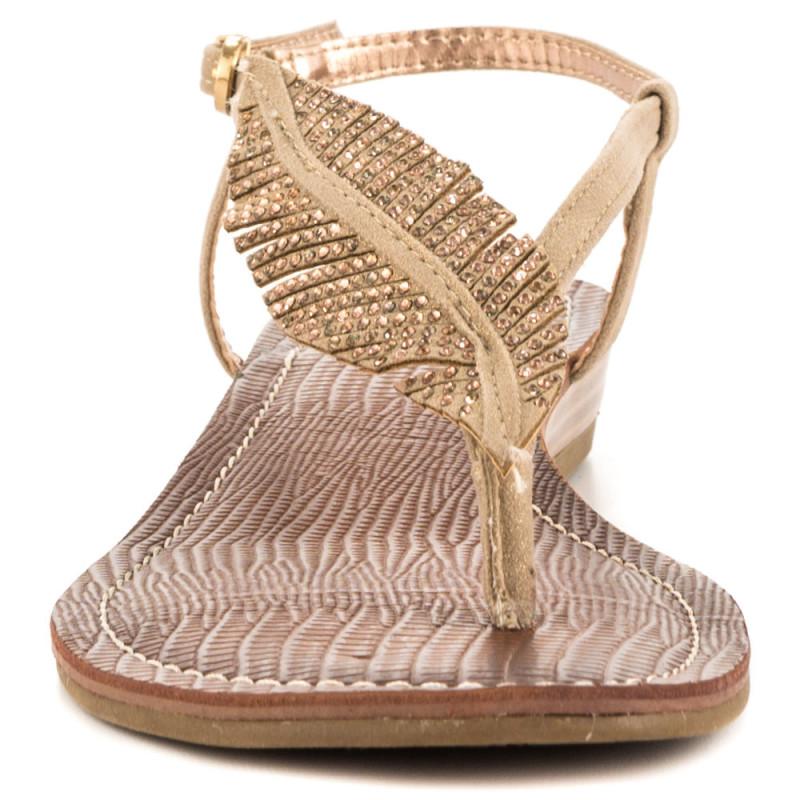 leaf sandal