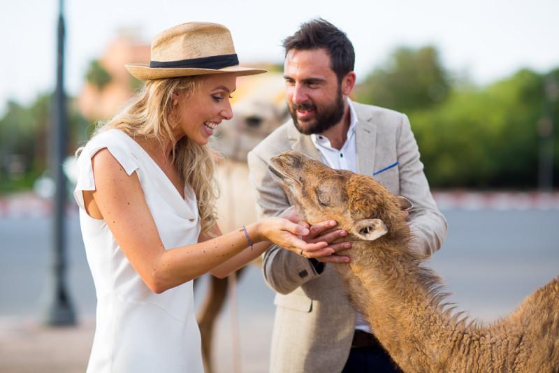 Sarah and Dan's wedding in Marakesch