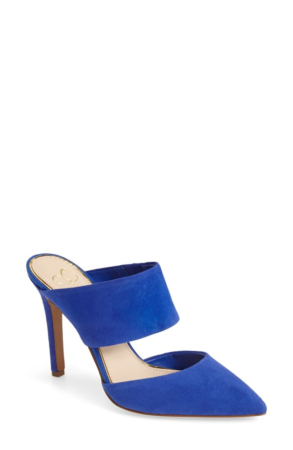 blue shoes in small sizes on offbeat bride