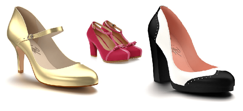 wedding shoes in small sizes on offbeat bride