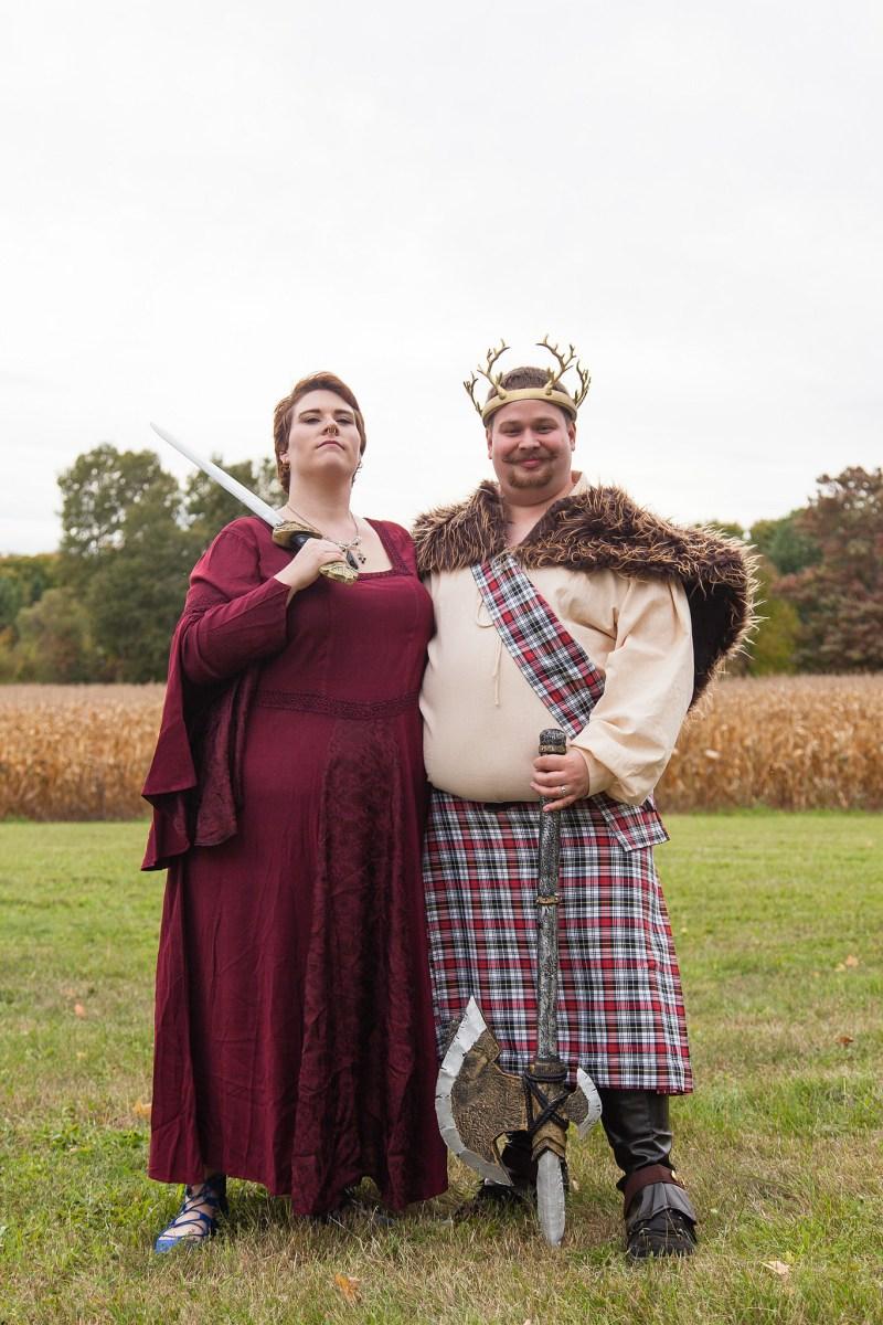 Medieval wedding as seen on @offbeatbride