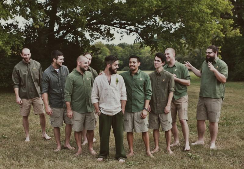 Tolkien-themed wedding as seen on @offbeatbride