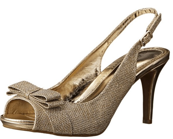 gold shoes offbeat bride