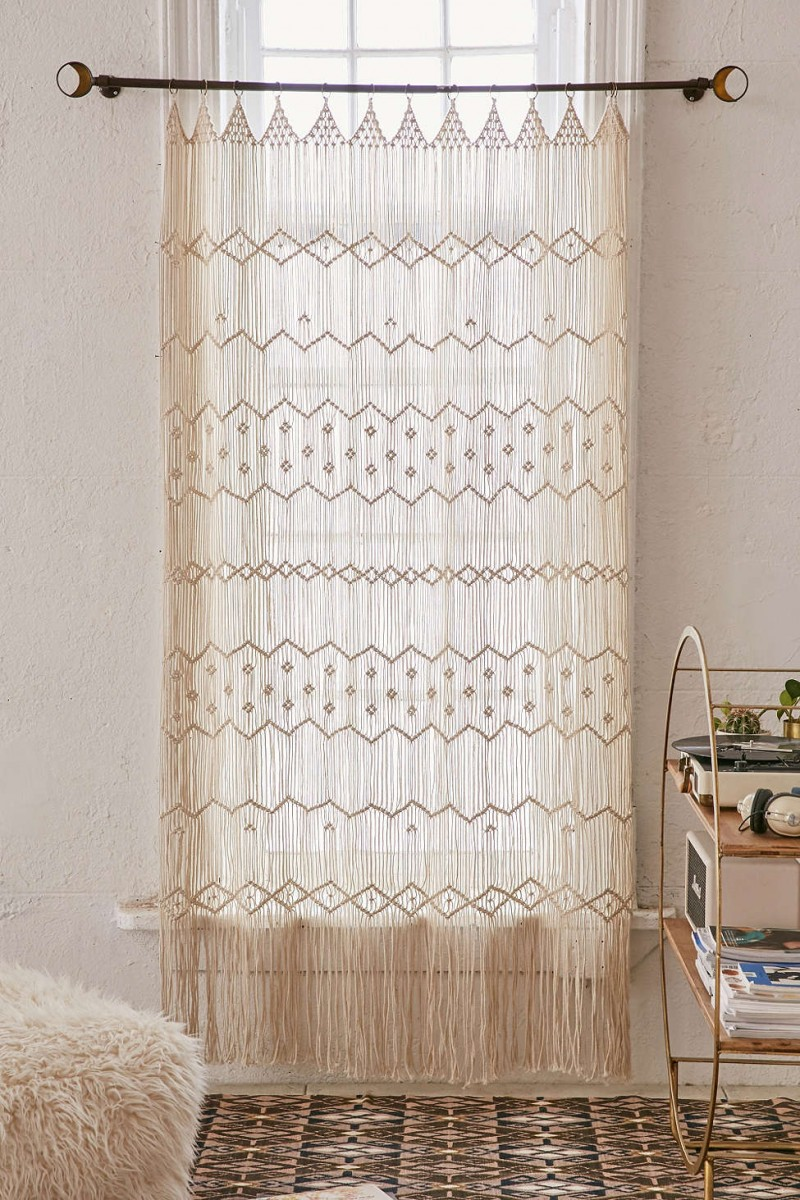 Use this macrame wall hanging for your living room and as the backdrop to your wedding ceremony!