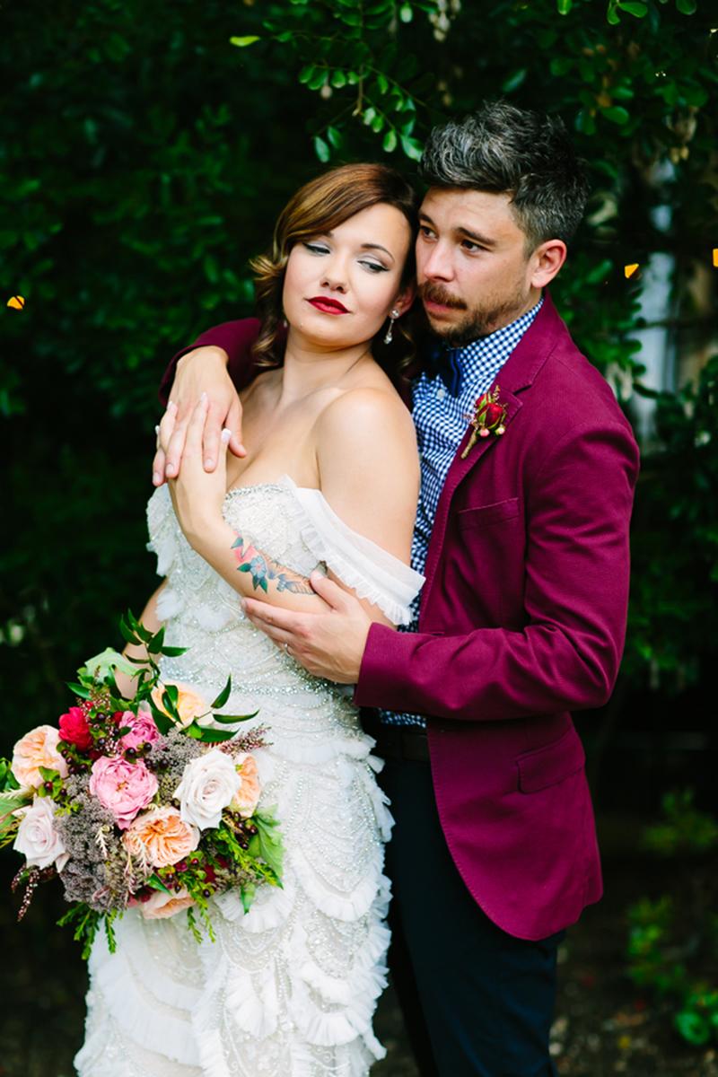 Gorgeous Austin wedding as seen on @offbeatbride