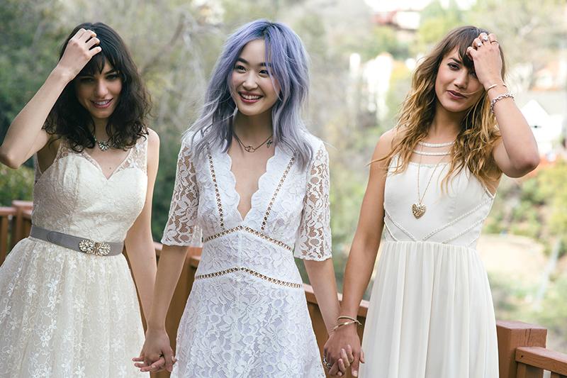 ModCloth wedding collection as seen on @offbeatbride #wedding #dress