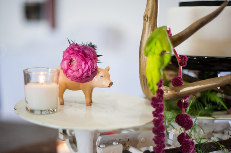 Bacon beards, and brews wedding styled shoot as seen on @offbeatbride
