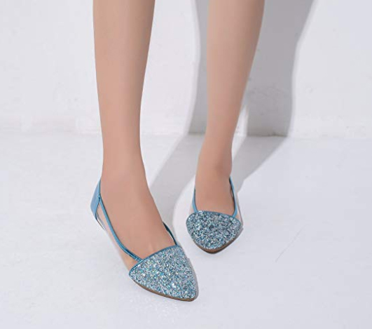 The world's most perfect blue wedding shoes?