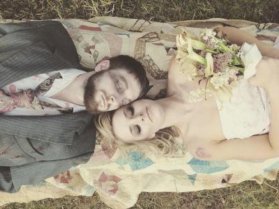 Halloween wedding inspiration from @offbeatbride