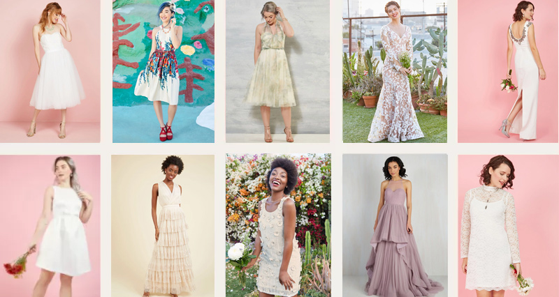 Get these amazing deals on ModCloth wedding dresses while they last!