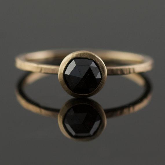 Hufflepuff engagement rings