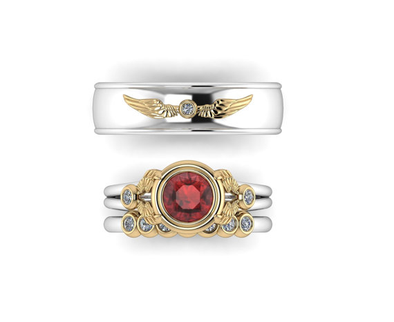 Harry Potter engagement rings for all four houses