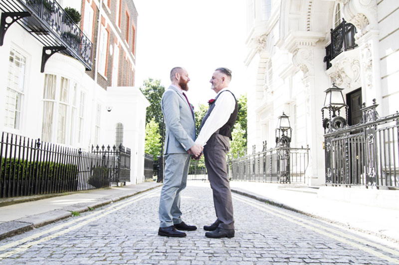 These chic grooms are serious style goals
