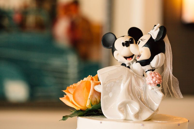 This is the magic that happens when Disney fans get married