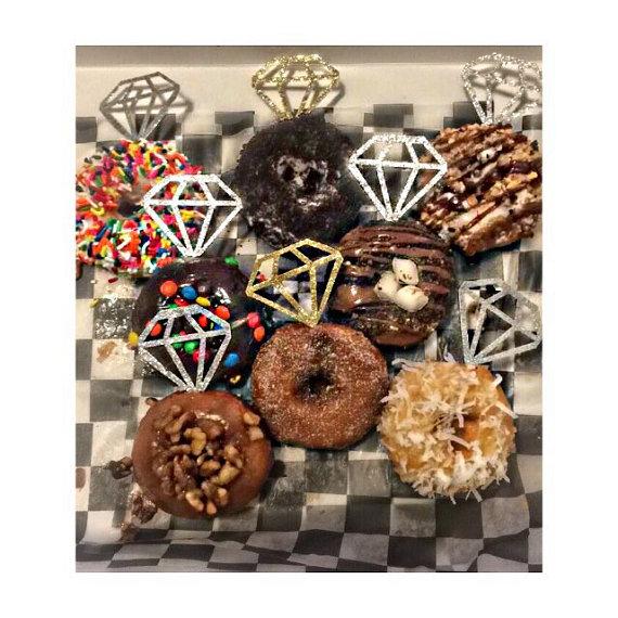 Everything you'll need for a killer wedding doughnut bar
