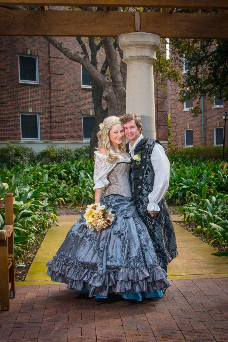 This Guillermo del Toro-approved wedding costuming brings enchantment to your wedding outfits