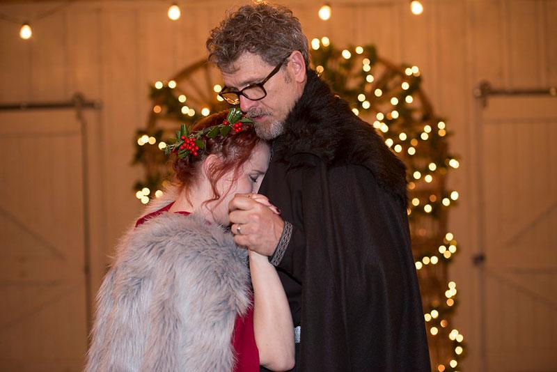 Winter is coming: a fantasy wedding in Atlanta