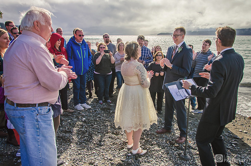 An intimate bucket list wedding planned in two weeks after a cancer diagnosis