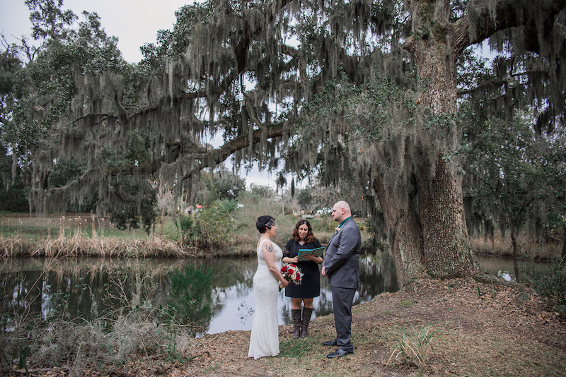 Savannah elopement officiant: Getting married or eloping in Savannah? Here's how to get the most personalized, funny, and touching wedding ceremony ever