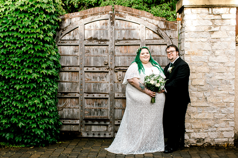 Zelda forest-themed wedding