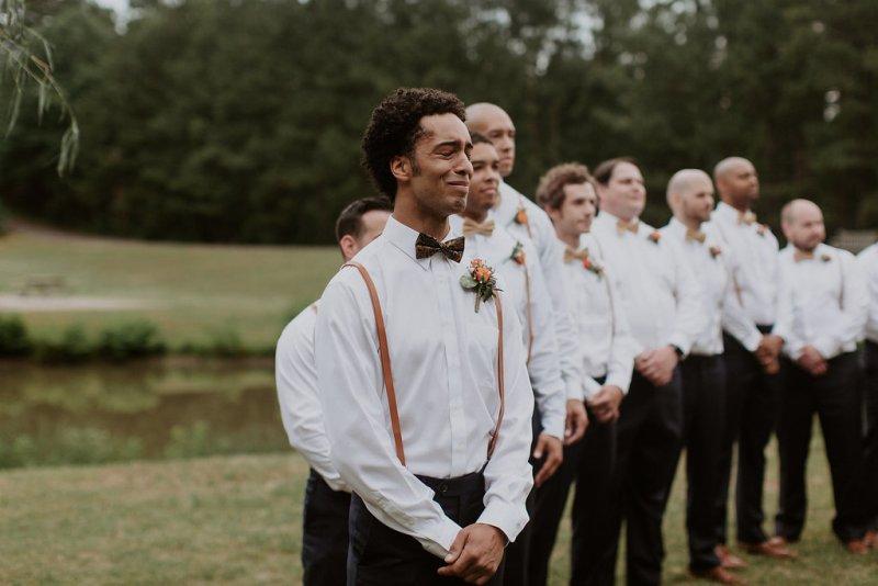 Ottenpalooza: a colorful music festival wedding