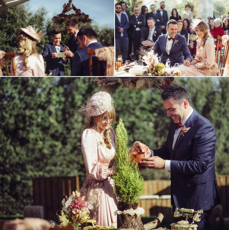 A magical Italian fall wedding inspired by autumn leaves