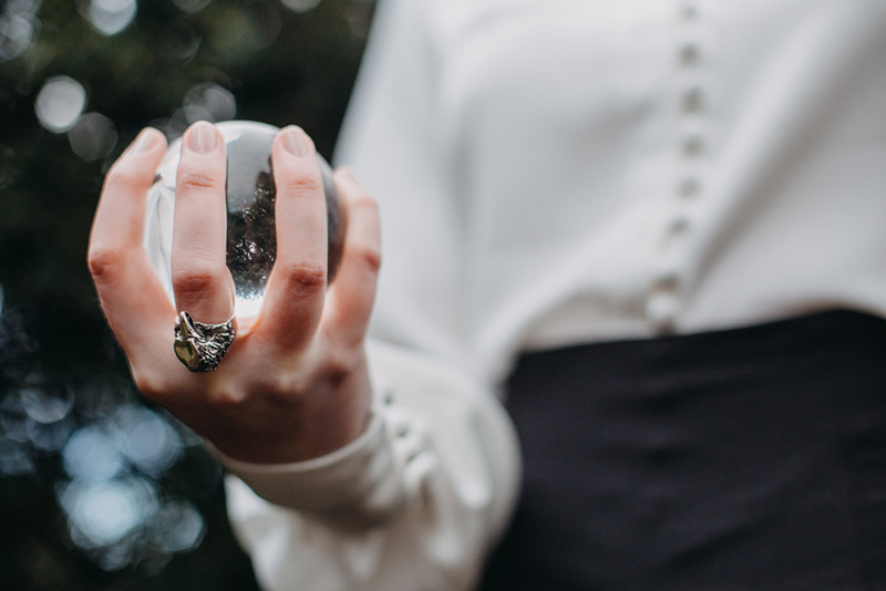 A same-sex Labyrinth-inspired wedding shoot that moves the stars for no one