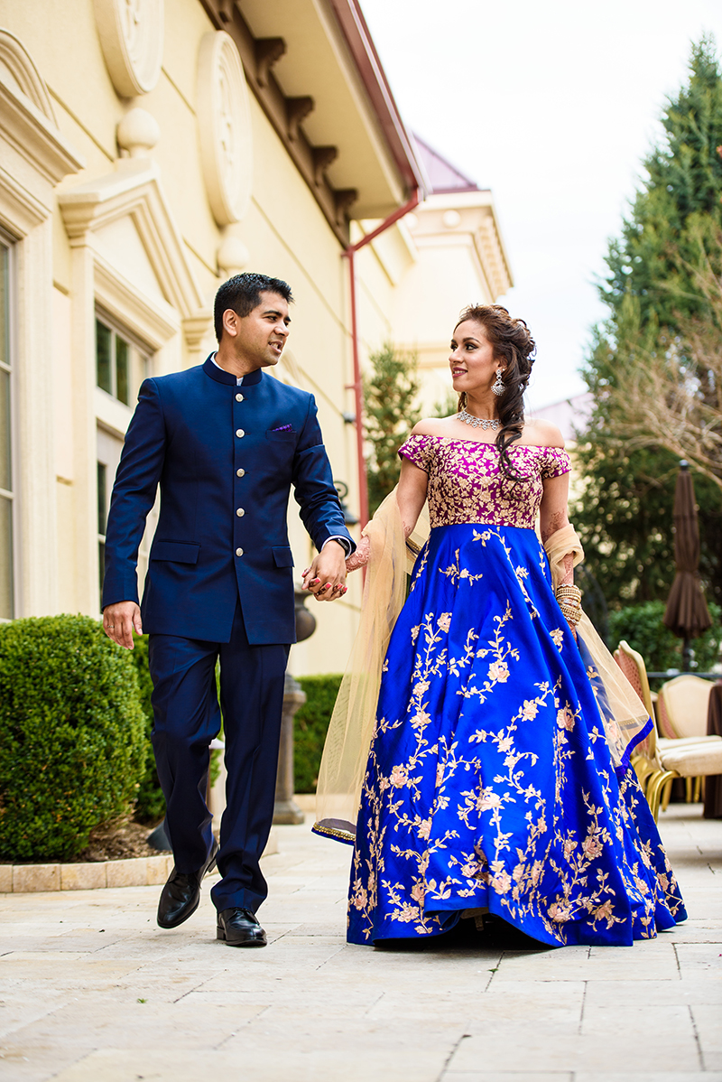 An extravagant Indian two-day wedding that took our breath away