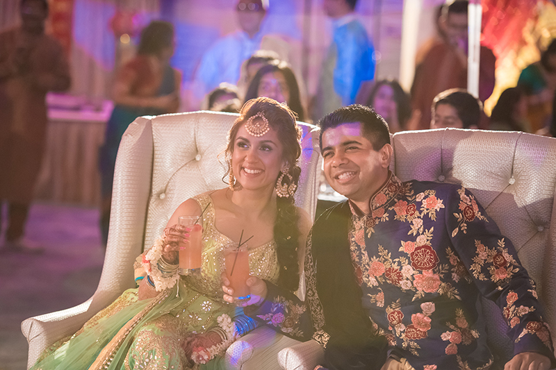 A totally luxe New Jersey Indian wedding that took our breath away