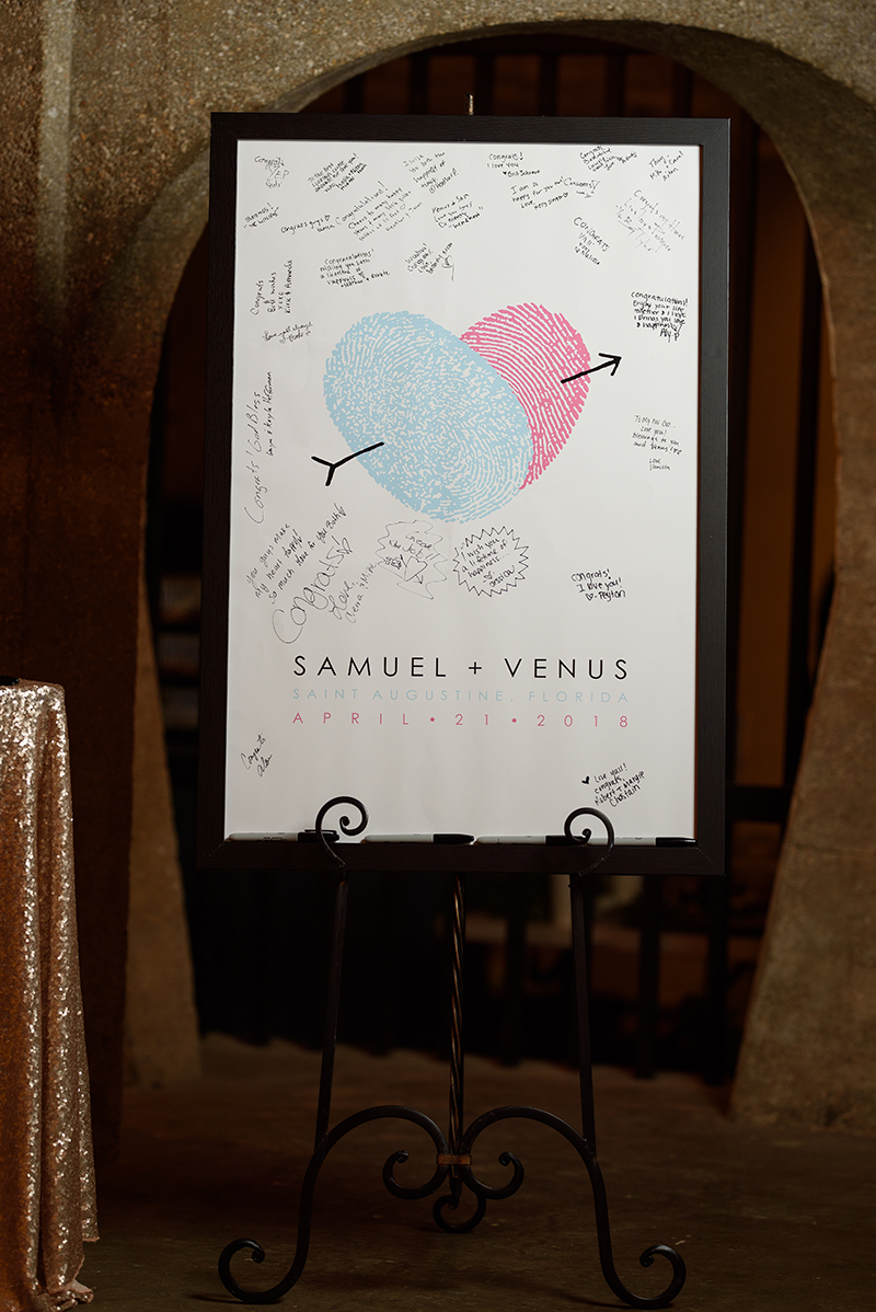 Tea towel invites & ombre roses, at this bilingual fairy tale wedding