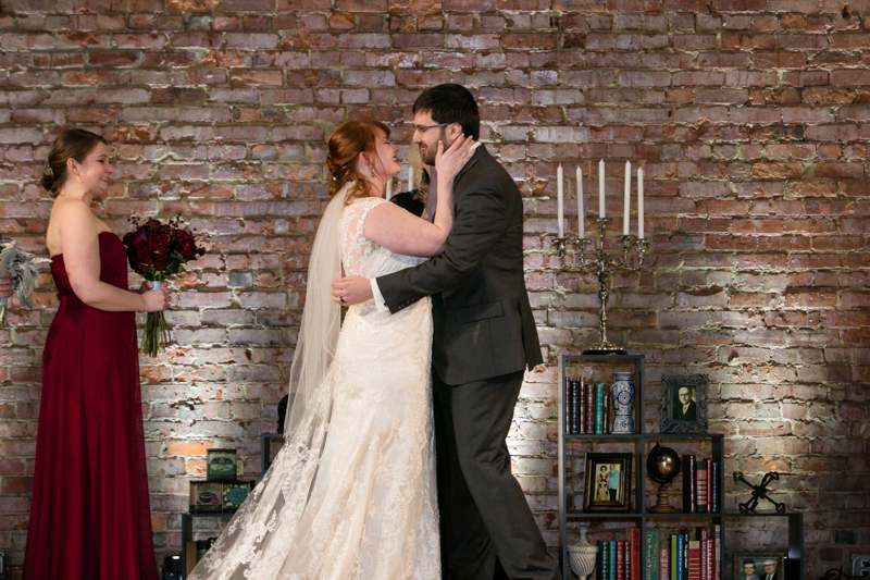 A Biltmore Estate library-inspired wedding with lots of BATMAN