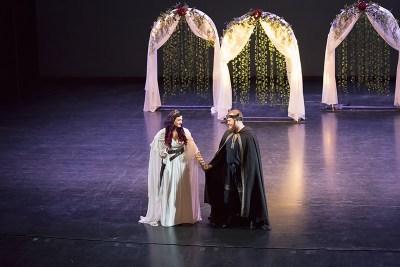 D&D, costumes, & epic music at this heavy metal wedding in Utah
