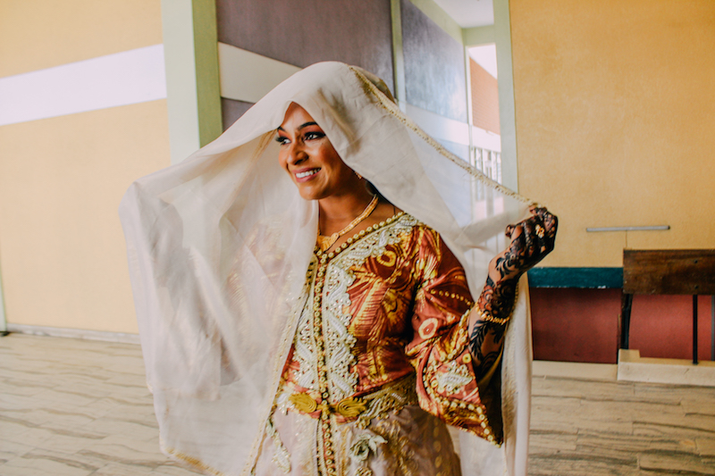 A bright & lovely Islamic wedding in Mombasa, Kenya