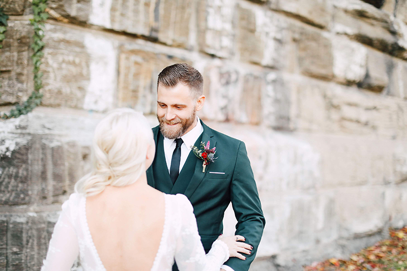 Jewel tones & sweet music tones at this colorful brewery wedding in Philly