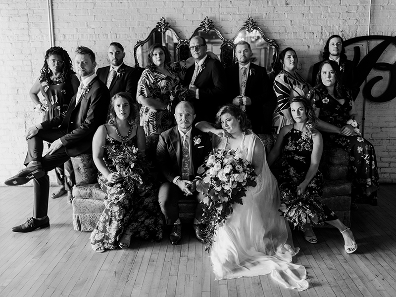Get ready to be blown away by this queer AF musical theater wedding