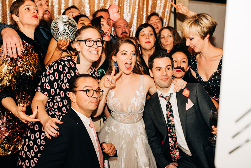This Brooklyn art museum wedding was so stunning, I may have ugly cried
