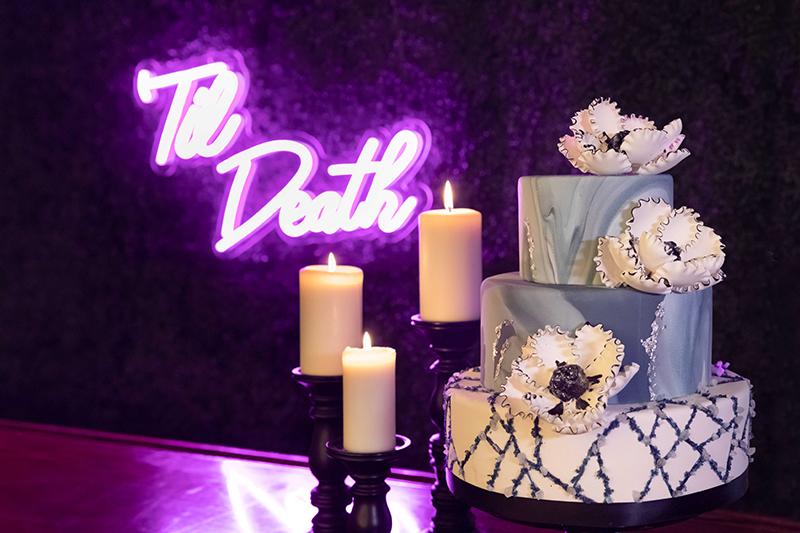 Edgy & urban wedding inspiration at The Denver Athletic Club