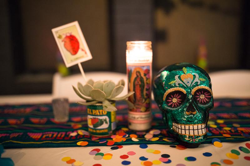 Piñatas, tacos, & cascarones at this Mexican-inspired DIY wedding in Chicago