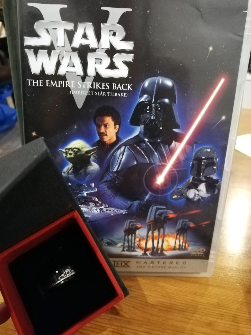 I proposed to my boyfriend using the most romantic moment in Star Wars
