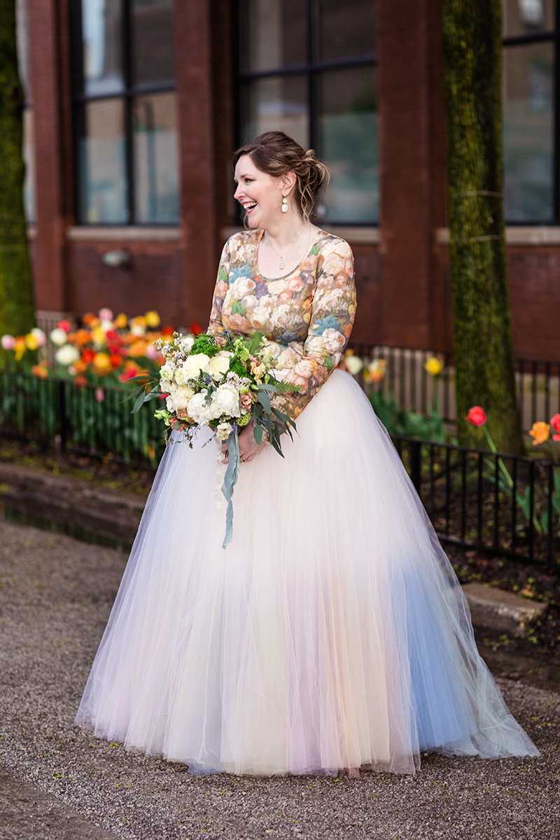 I bought my wedding dress on Etsy! Here are my tips for buying a custom dress online