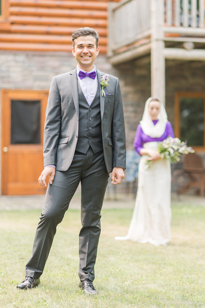 Sentimental touches abound at this whimsical forest wedding in Northern Minnesota