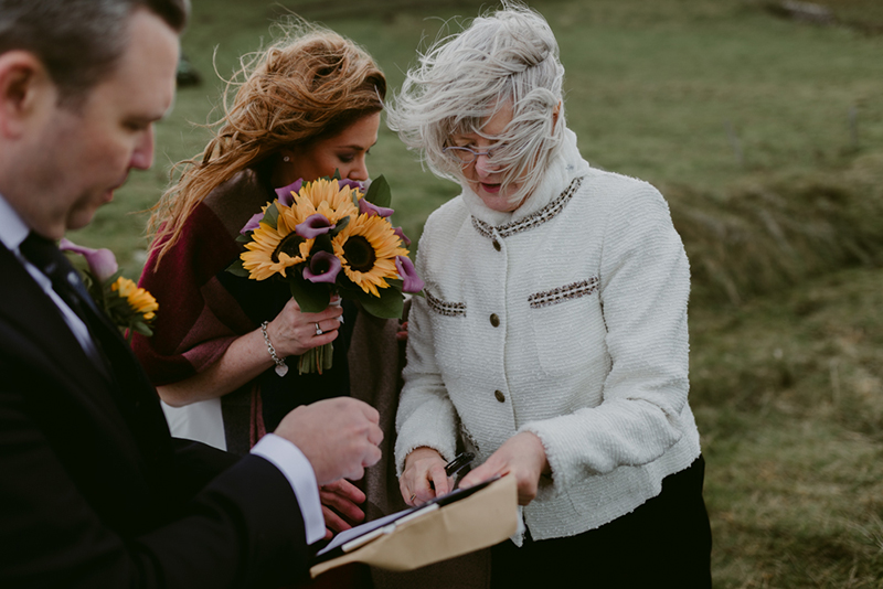 Eloping in Westeros: a Northern Irish castle elopement near Game of Thrones locations