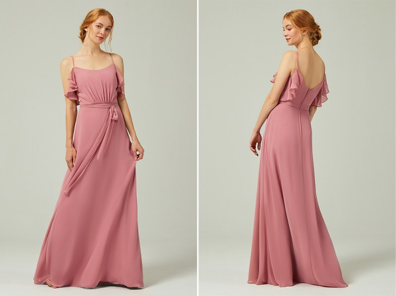 Affordable bridesmaids dresses: Your bridesmaids will do a happy dance in this bridal party collection in all sizes (with pockets & sleeves!)
