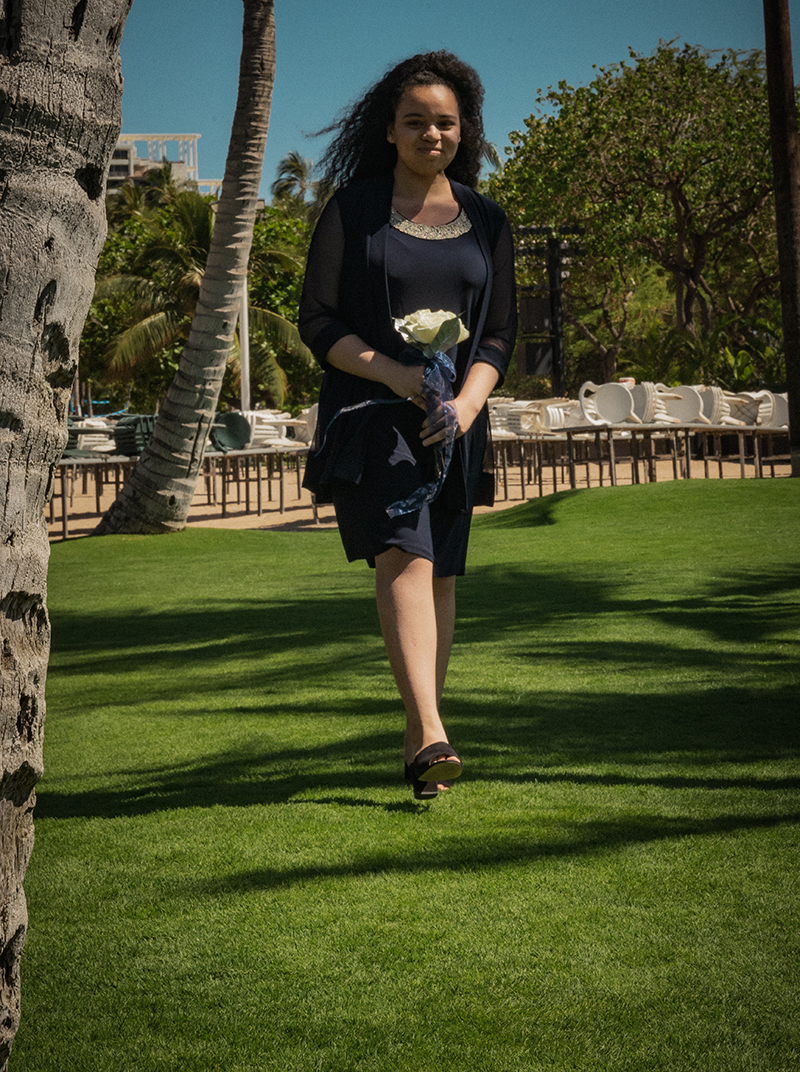 """A romantic O'ahu wedding with two grooms, a beachside ceremony, & jumping the """"groomstick"""""""